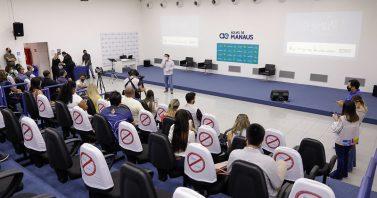 Águas de Manaus e Prefeitura lançam 'Desvendar Esporte' para incentivar práticas desportivas e de sustentabilidade